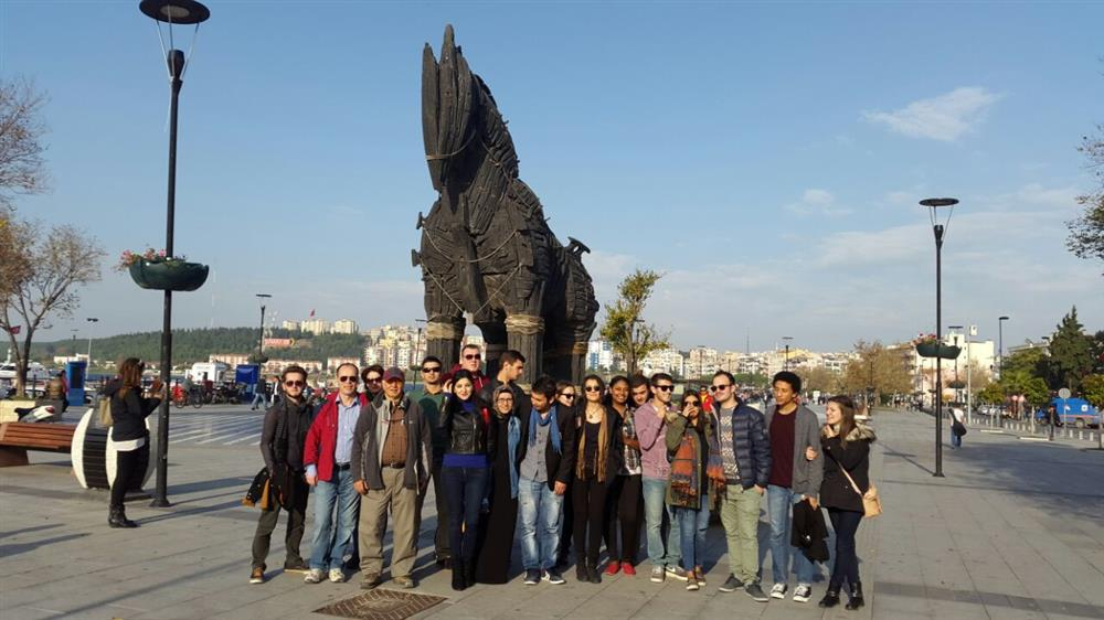 A Trip to Çanakkale for Exchange Students